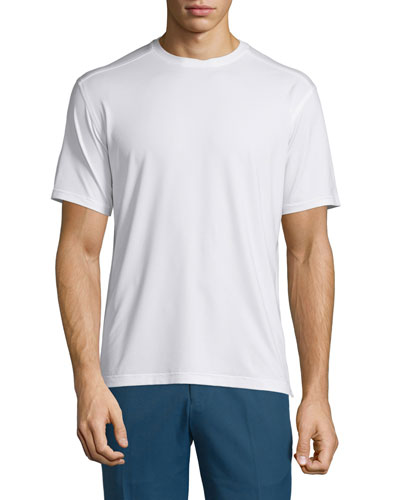 Holden UPF 50+ Sun Short-Sleeve Stretch T-Shirt, White