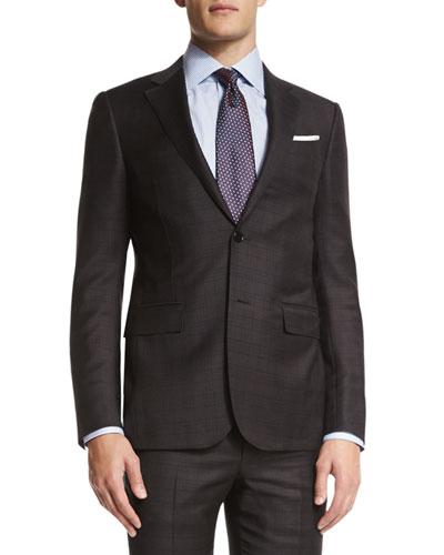 Ermenegildo Zegna Wool Suit | Neiman Marcus