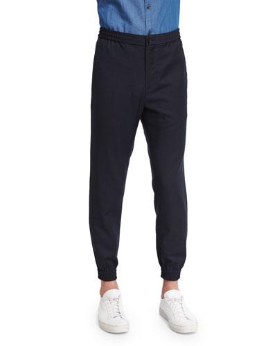 Plymouth Jacquard Jogger Pants, Eclipse