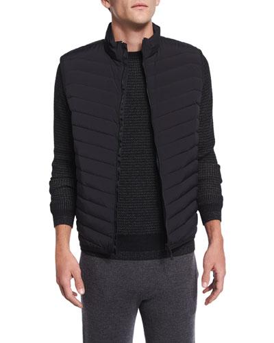 Corick Lightweight Puffer Vest, Black