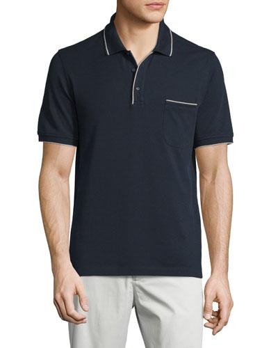 Regatta Short-Sleeve Pique Polo Shirt