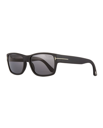 Mason Matte Polarized Sunglasses, Black