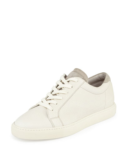Leather Low-Top Sneaker
