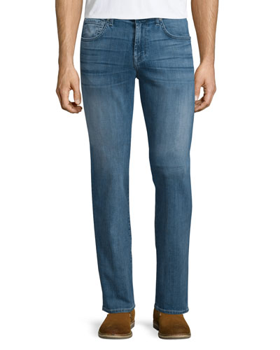 Straight-Leg Foolproof Denim Jeans, Tribute