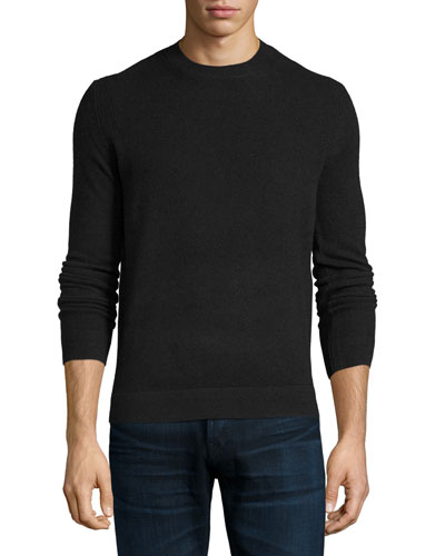 Vetel 2 Cashmere Long-Sleeve Sweater, Black