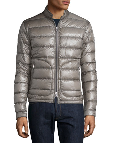 Acorus Puffer Down Jacket, Gray