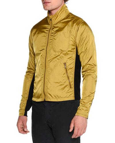Lightweight Nylon Jacket   Neiman Marcus