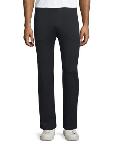 Jersey Track Pants, Black