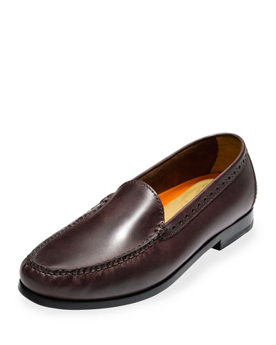 Pinch Grand Leather Loafer, Chestnut