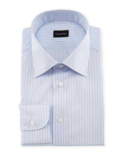 Multi-Stripe Dress Shirt, Multi