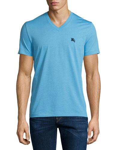 Short-Sleeve Jersey T-Shirt, Sky Blue