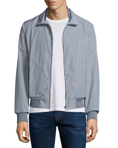 Bradford Lightweight Blouson Jacket, Light Gray