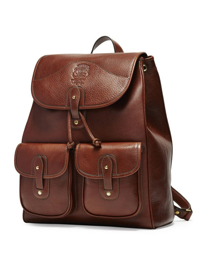 Blazer No. 278 Leather Backpack, Vintage Chestnut