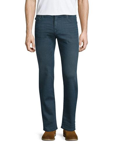 Geno True Blue Twill Jeans, Blue