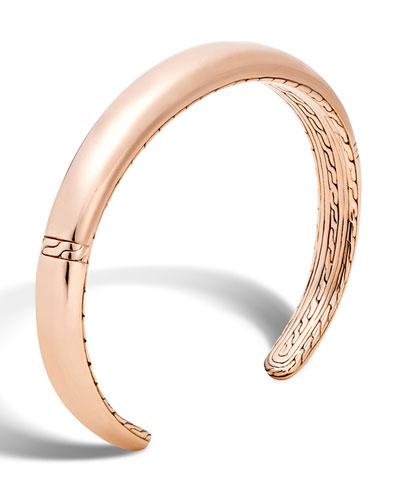 Men's Classic Chain Cuff Bracelet, Bronze