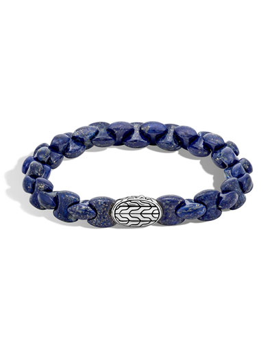 Men's Batu Classic Chain Bracelet with Lapis