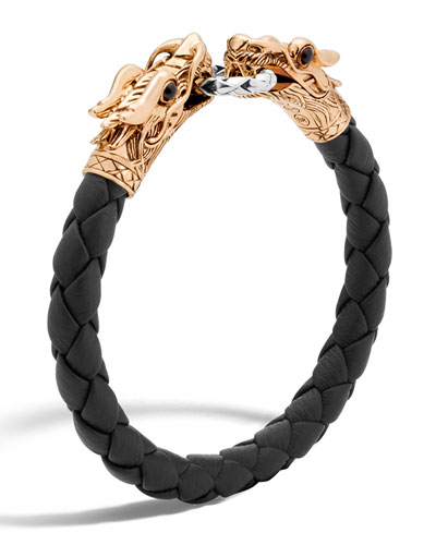 Legends Naga Dragon Leather Bracelet