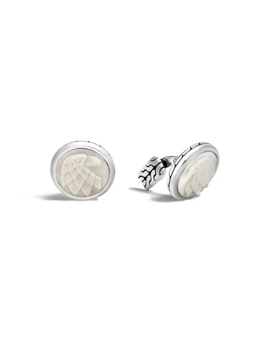 Legends Eagle Head Cuff Links