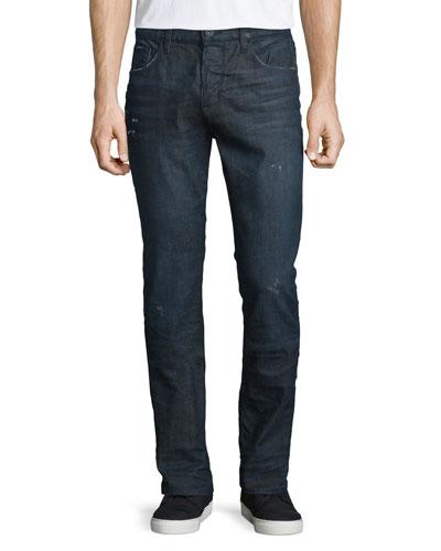 Sartor Cosmonaut Slim-Fit Denim Jeans, Blue