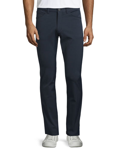 Neoteric Flat-Front Pants, Navy