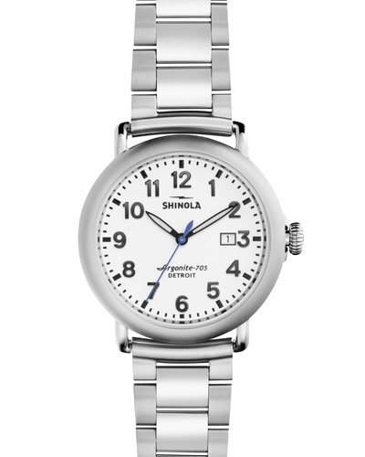 41mm Runwell Bracelet Watch, Stainless Steel
