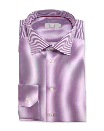 Mitered Cuff Dress Shirt | Neiman Marcus
