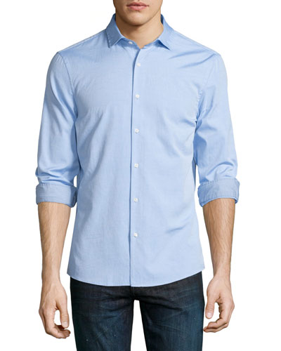 Slim-Fit Long-Sleeve Oxford Shirt