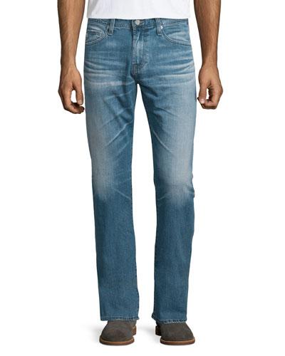 Graduate Medium-Blue Denim Jeans, Muir