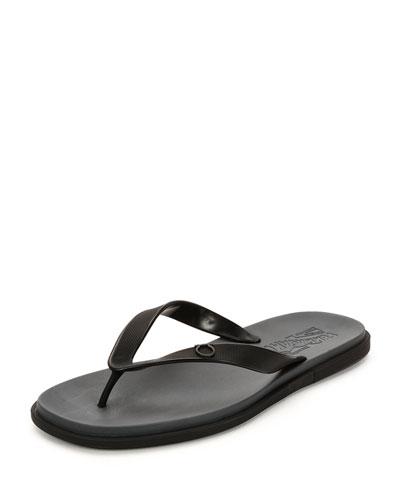 Flip-Flop Sandal, Black