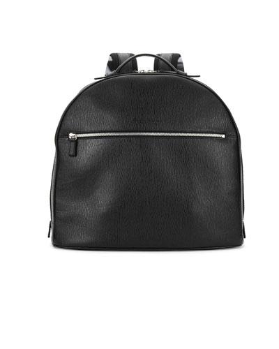 Revival Leather Backpack, Black