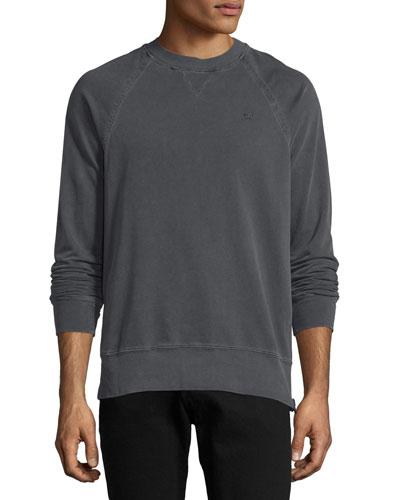 Russell Westbrook Collection Elongated Raglan-Sleeve Crewneck Sweatshirt, ...