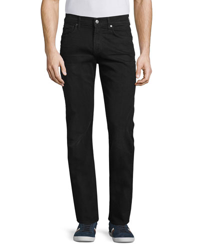 The Straight Washed Jeans, Black