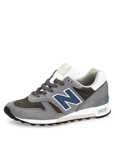 1300 Explore By Air Leather Sneaker, Navy/Gray