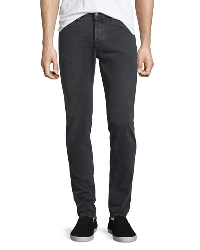 James Slim-Fit Denim Jeans, Gray Used