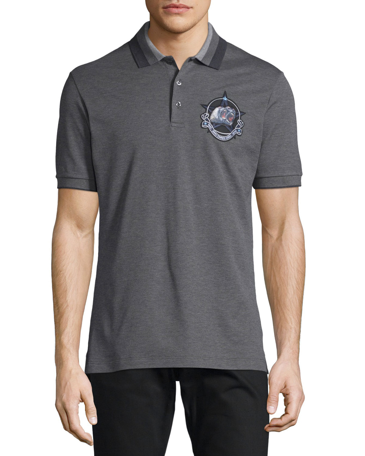 Monkey Brothers Pique Polo Shirt