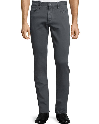 Bowery Slim-Straight Denim Jeans, Shark