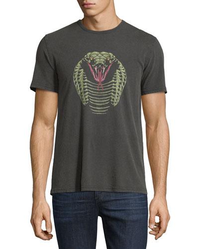 Cobra Graphic Short-Sleeve T-Shirt, Black