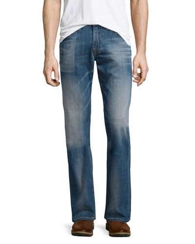 Ricky Pacific Light Denim Jeans, Light Old School
