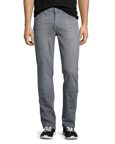 Brixton Cool Off Washed Denim Jeans, Gray