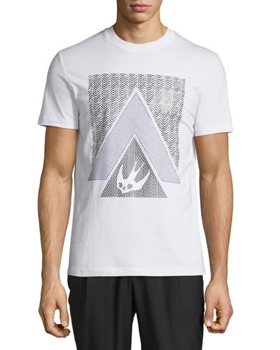 Triangle Logo Graphic Short-Sleeve T-Shirt
