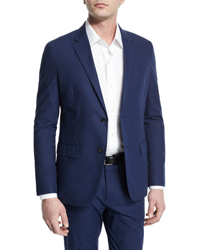 Rodolf Solid Twill Blazer, Illumination