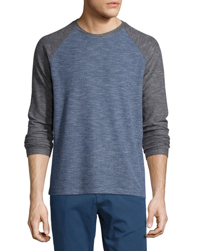 Jordun Colorblock Raglan-Sleeve T-Shirt, Illumination Multi