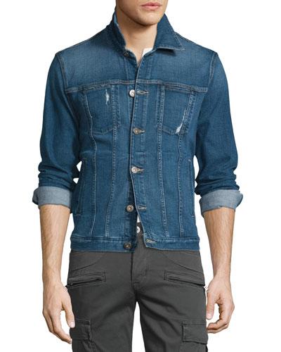 Garrison Arcade Denim Jacket, Blue