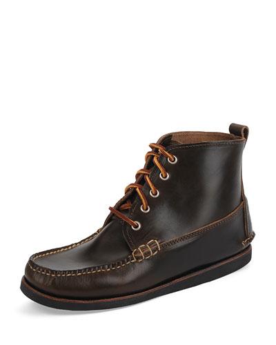 Seneca USA Camp Moc Chukka Boot, Dark Olive