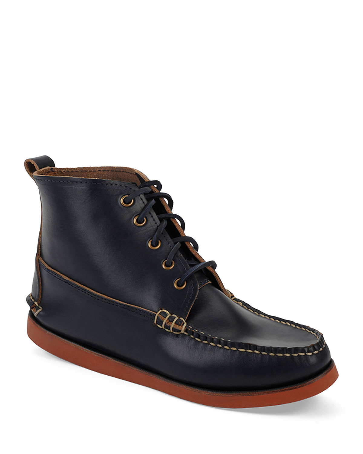 Seneca USA Camp Moc Chukka Boot, Navy