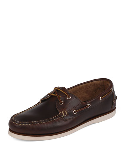 Freeport USA Boat Shoe, Brown