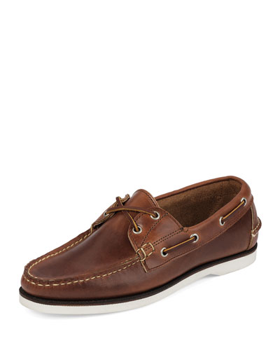 Freeport USA Boat Shoe, Chicago Tan