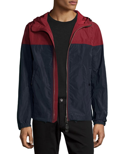 Colorblock Technical Jacket w/Hood