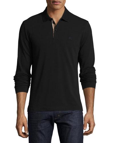Black Burberry Shirt For Men