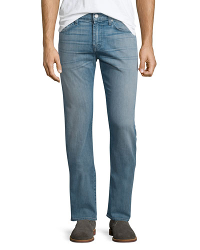 Straight-Leg Airweft Denim Jeans, Unwound